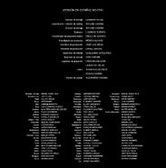 Los siete pecados capitales - Créditos Temporada 2