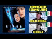 Virus -1999- Comparación del Doblaje Latino Original y Redoblaje - Español Latino