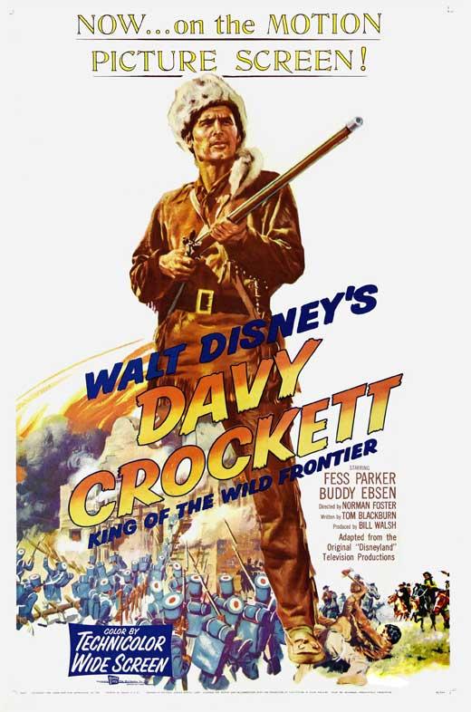 Davy Crockett, el rey de la frontera salvaje