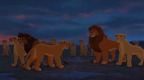"""Zira (9 9) español spanish """"El rey león II el reino de Simba""""."""