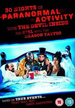 30 noches de actividad paranormal con el diablo adentro de la chica con el tatuaje de dragón