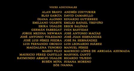 El libro de la selva (2016) Doblaje Latino Creditos 2.png