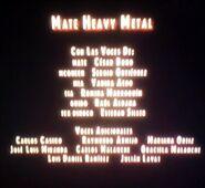 Créditos de doblaje de Mate Heavy Metal parte 1