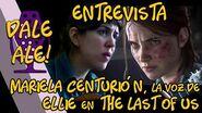 Dale Ale! - Entrevista a la voz de Ellie de The Last of Us, Mariela Centurión