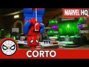 El Laboratorio soñado de Spidey - Lego Marvel Spider-Man- Perseguido por Venom