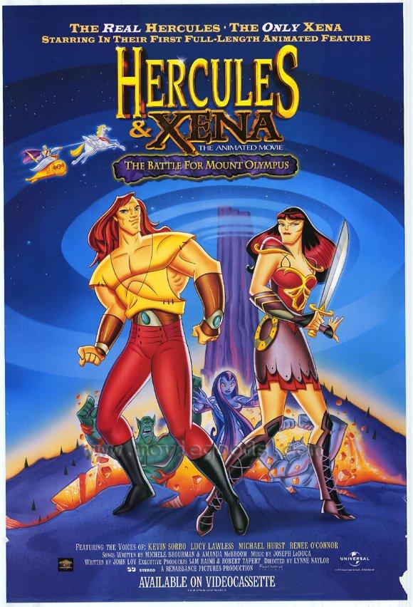 Hercules y Xena: La batalla por el Monte Olimpo