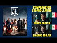 La Liga de la Justicia -2017-2021- Comparación del Doblaje Latino - 'Theatrical Cut' & 'Snyder Cut'