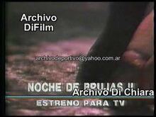 Promo Película Noche de Brujas II - DiFilm (1990)