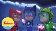 Carrera Espacial PJ Masks Héroes en Pijamas