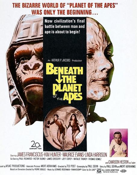 Bajo el planeta de los simios