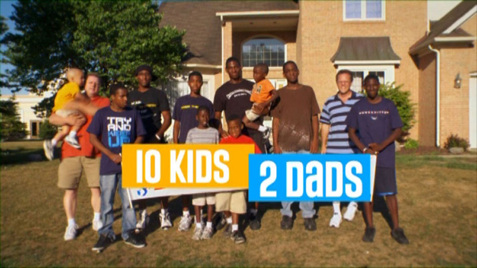10 Kids, 2 Dads