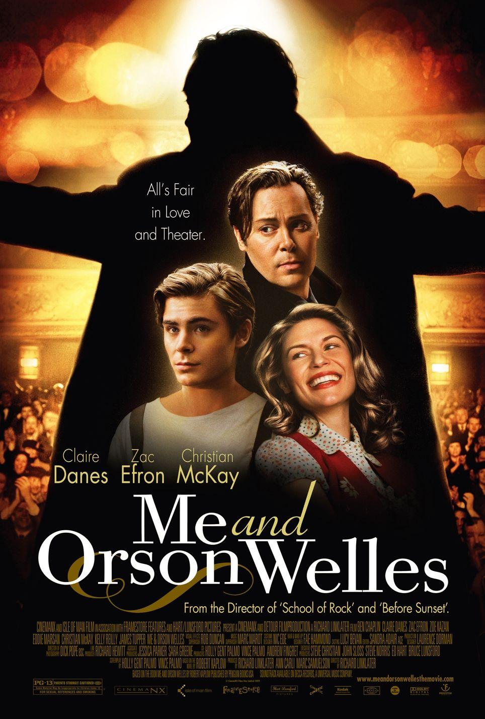 Orson Welles y yo