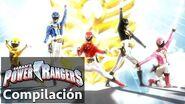 Power Rangers en Español Megaforce Modificaciones