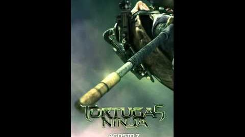 Tortugas Ninja Donatello Póster Digital México Paramount