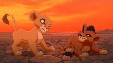 """Zira (2 9) español spanish """"El rey león II el reino de Simba""""."""