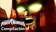 Power Rangers en Español Peleas de Zord Power Rangers Dino Charge!