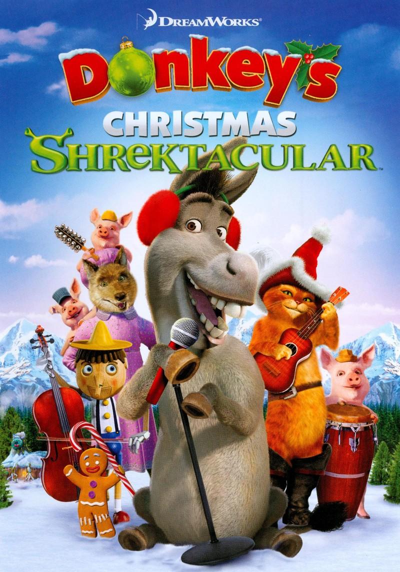 La Shrektacular navidad de Burro
