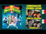 Power Rangers -1993- Comparación del Doblaje Latino Original y Redoblaje - Español Latino