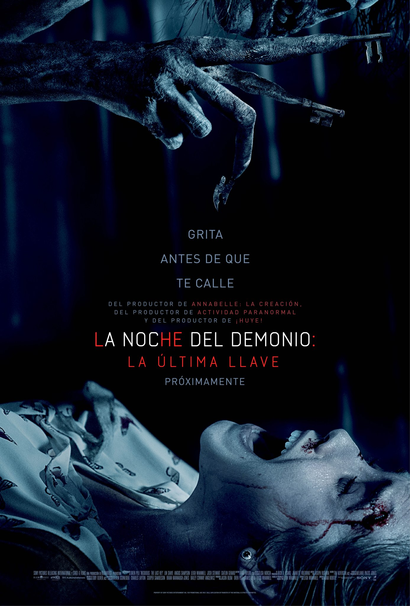 La noche del demonio: La última llave