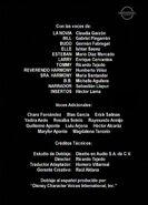 Créditos de doblaje de Kill Bill Vol. 2 (Buena Vista) (TV) (UC)