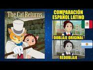 El Regreso del Gato -2002- Comparación del Doblaje Latino Original y Redoblaje - Español Latino