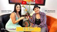 """""""La Cruda Verdad"""" Episodio 3 Invitada Dilia Waikkarán Primera Actriz"""