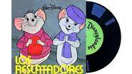 Bernardo y Bianca Los Rescatadores - Pequeño disco de Walt Disney (en 2K!)