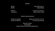 Créditos de doblaje de Mickey Mouse T03E05 (DL)