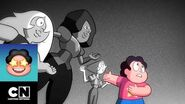 Diamante Blanco le saca su gema a Steven Steven Universe Cartoon Network