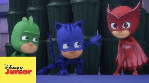 Una Tarea Para Todos PJ Masks Héroes en Pijamas
