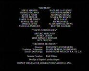 Créditos de doblaje de Fantasía 2000 (TV) (DC)