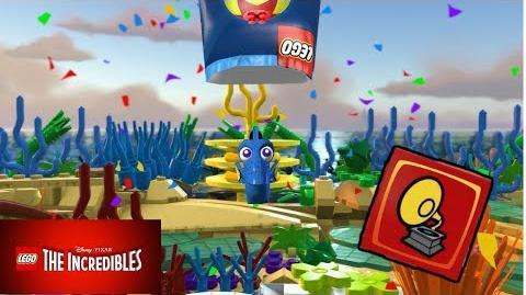 """¡¡DESBLOQUEAR A DORY (BUSCANDO A NEMO) , Y LADRILLO ROJO """"MODO MOVIMIENTO""""!! - LEGO LOS INCREIBLES"""