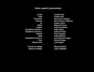 Créditos de doblaje de Violet Evergarden T01E03 (Netflix)