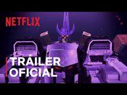 Transformers- La guerra por Cybertron - Salida de la Tierra - Tráiler oficial - Netflix