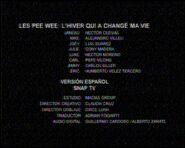 Créditos de doblaje de Los Pee Wee 3D