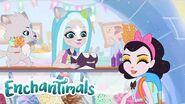 Enchantimals Latino 💜Historias de Everwilde Cuento del helado siempre congelado 💜Dibujos animados