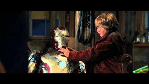 Iron Man 3 - Encuentro entre Tony y el niño -- Latinoamérica