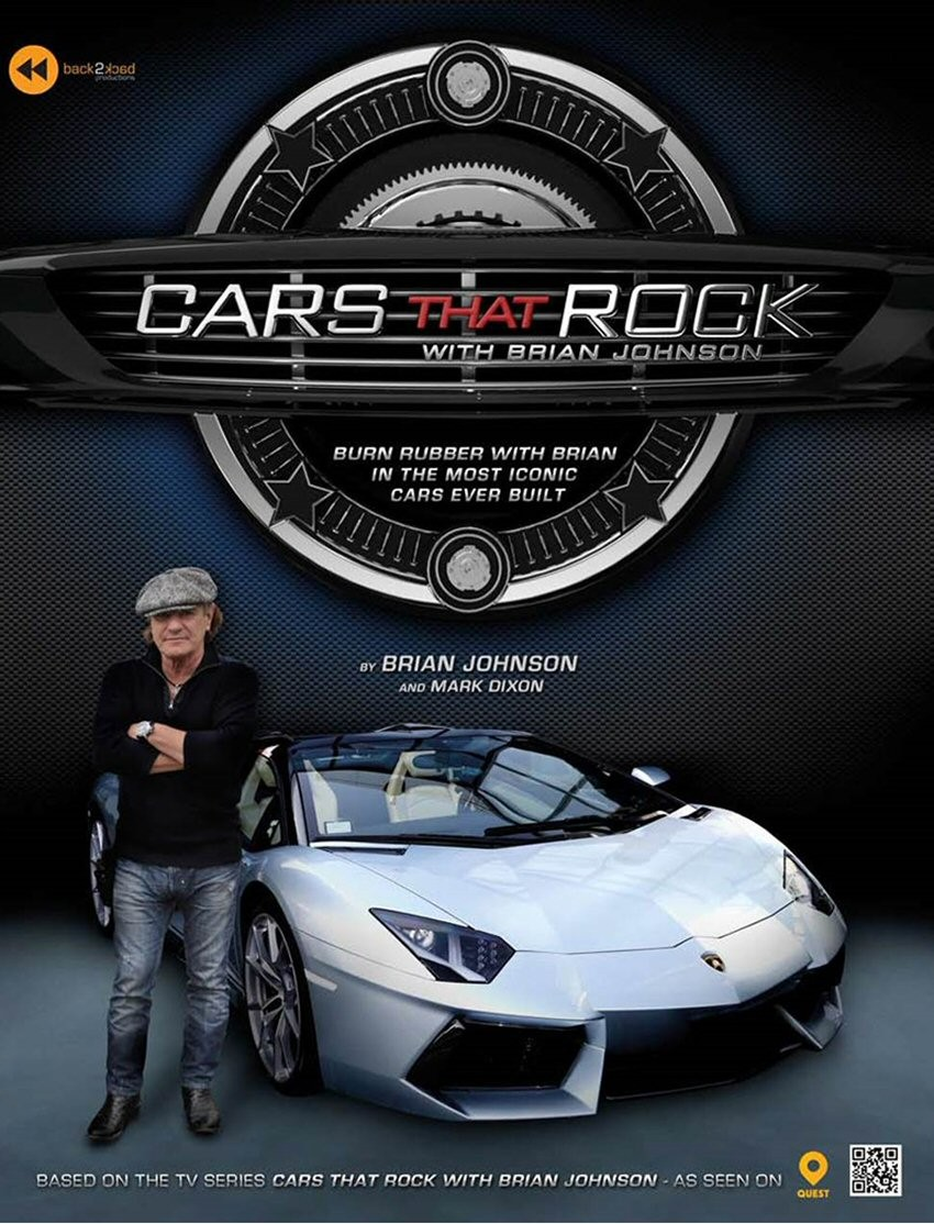Autos alucinantes con Brian Johnson