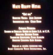 Créditos de doblaje de Mate Heavy Metal parte 2