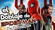El Doblaje latino de Spider-Man Lejos de Casa Memo Aponte