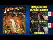 Indiana Jones y los Cazadores del Arca Perdida -1981- Comparación del Doblaje Original y Redoblaje