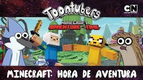 MINECRAFT HORA DE AVENTURA ES EL MEJOR MINECRAFT DE TODOS! Toontubers Cartoon Network