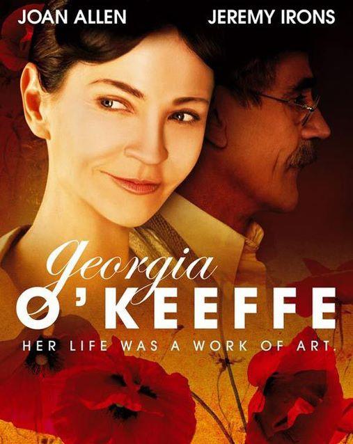 La biografía de Georgia O'Keeffe