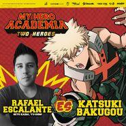 My Hero Academia - Dos Héroes (Actores presentados 07)