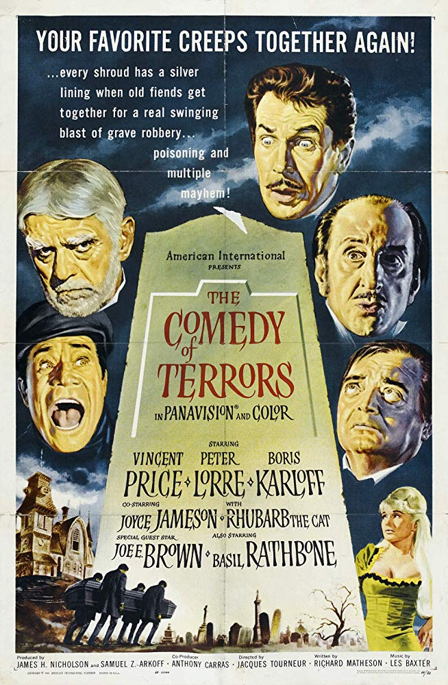 La comedia de terror