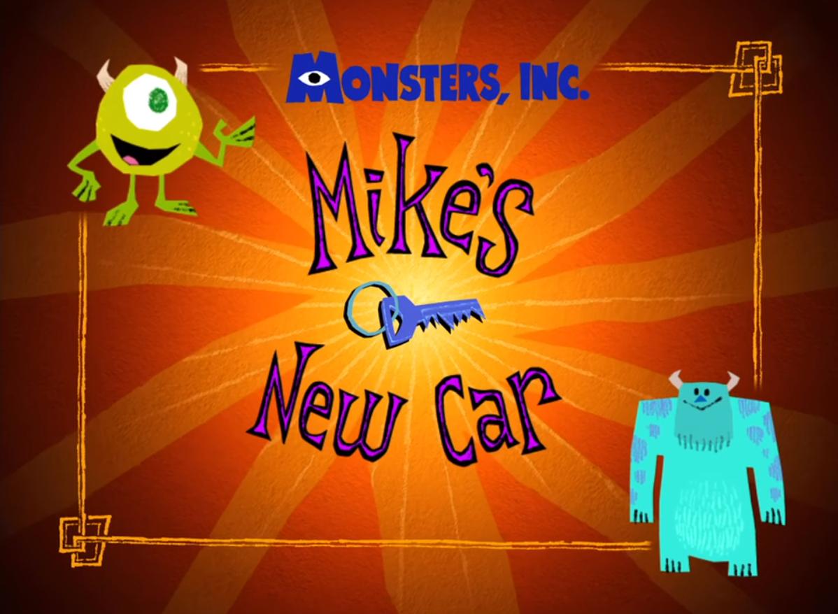 El nuevo auto de Mike