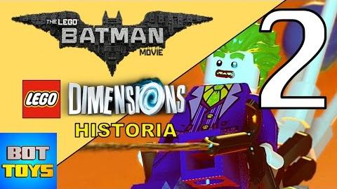 LEGO BATMAN LA PELICULA 2017 - HISTORIA EN LEGO DIMENSIONS LA PLANTA DE ENERGIA PARTE 2