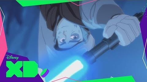Luke vs el Wampa Escape de la Caverna Star Wars Galaxy of Adventures