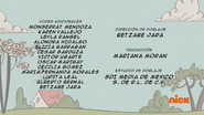 Creditos de doblaje The Loud House ESLA (S304-2)