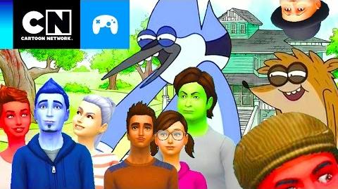 THE SIMS 4 UN REALITY SHOW MÁS (parte 1) Toontubers Cartoon Network